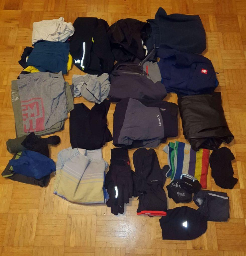 Kleidung für die Radtour