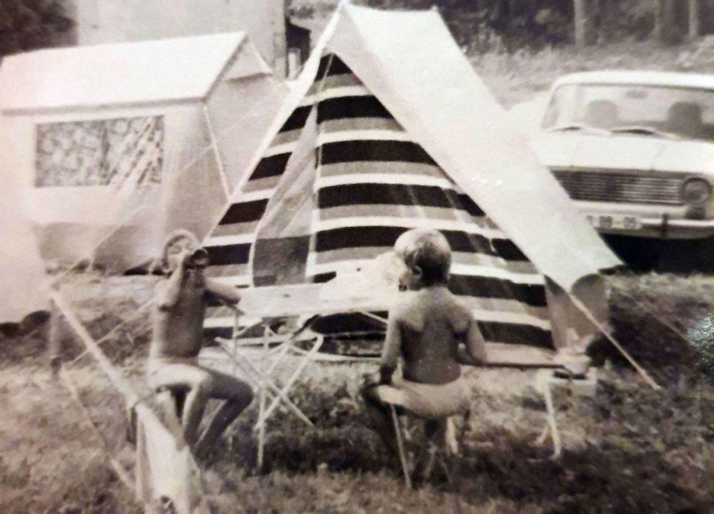 Retro Campingausrüstung