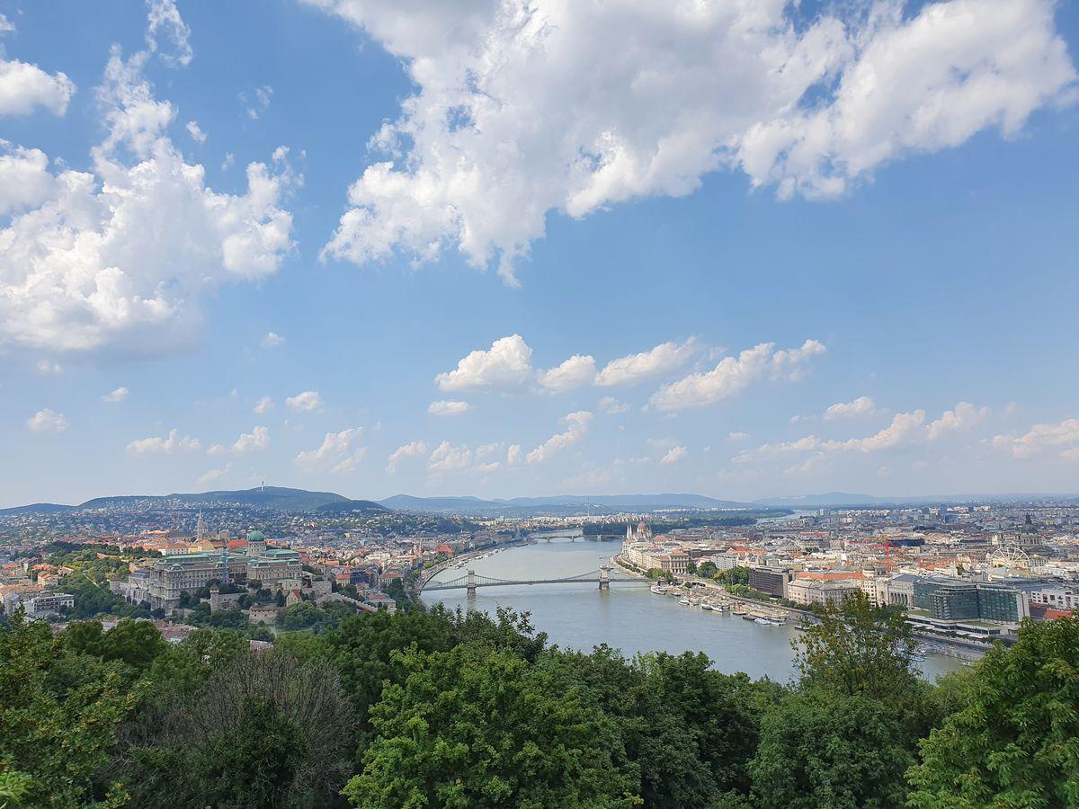 Budapest vom Gellért Hügel