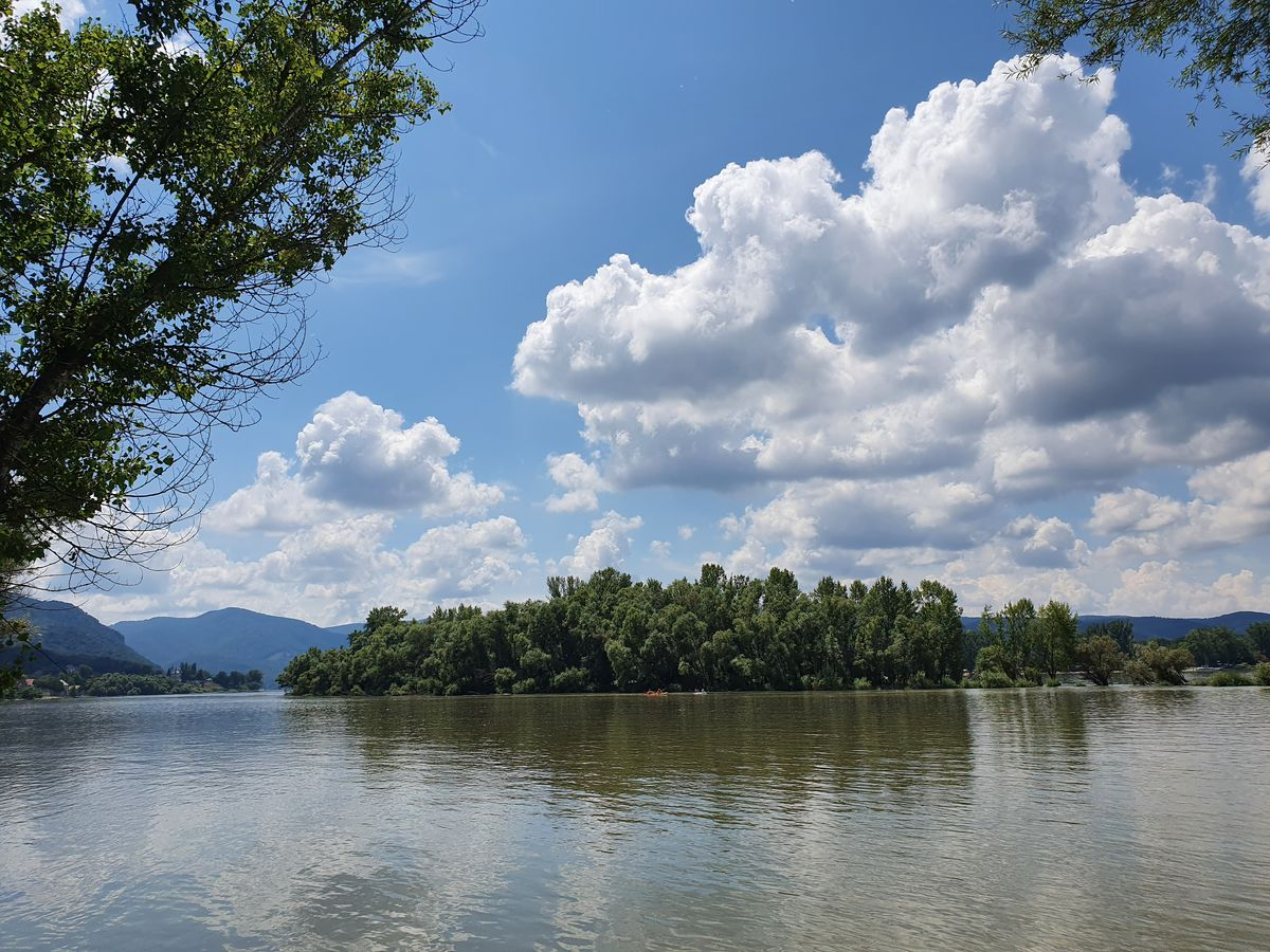 Donau bei Zebegény