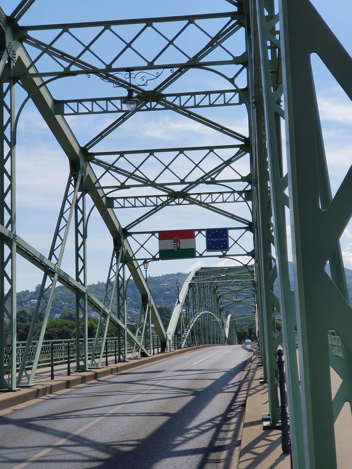 Grenze Slowakei Ungarn bei Esztergom