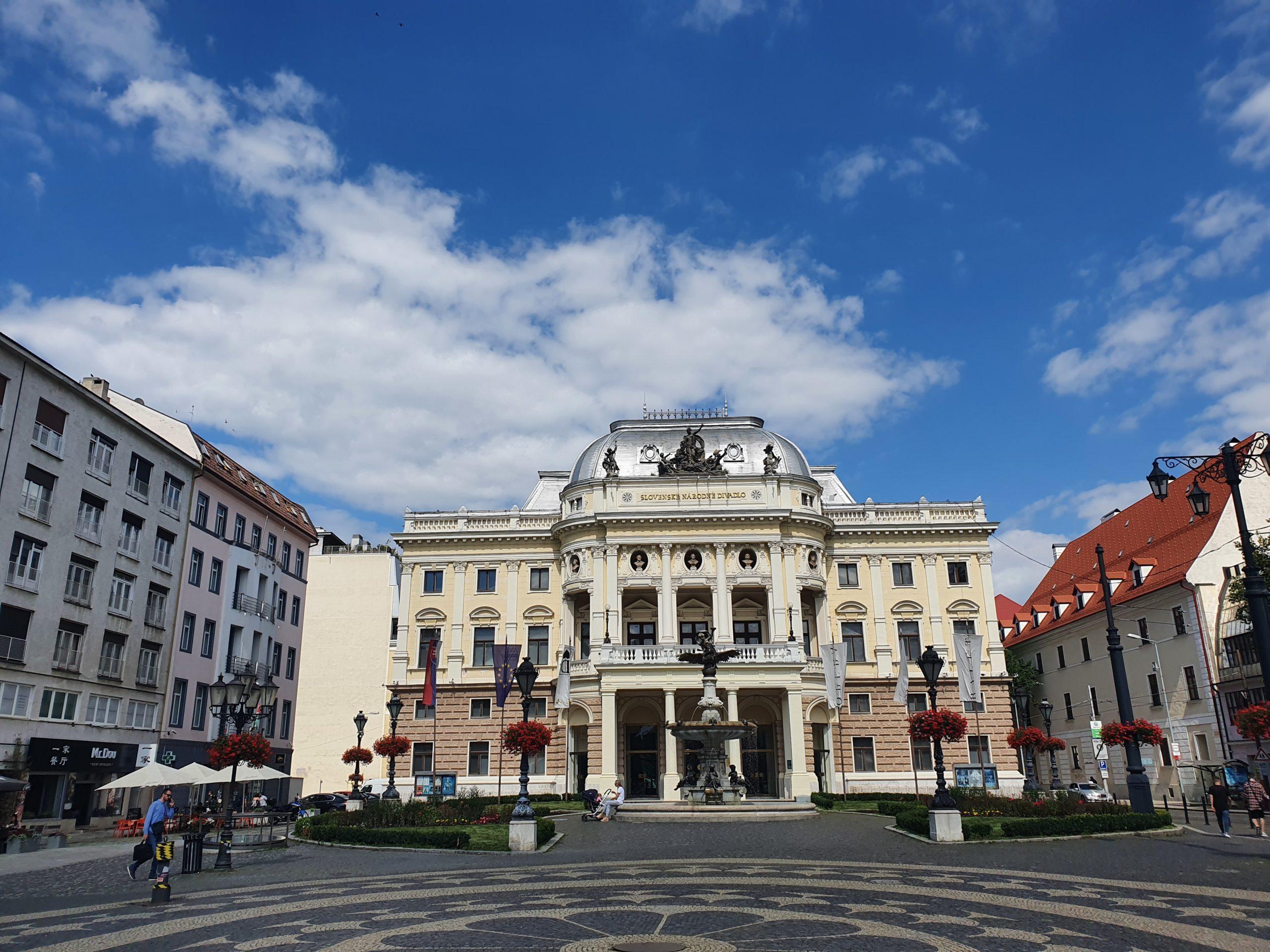 Historisches Gebäude des Slowakischen Nationaltheaters