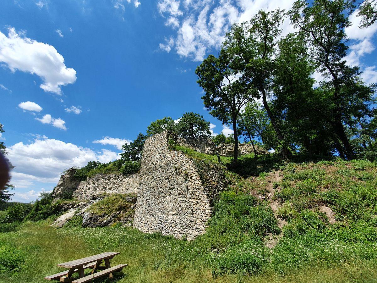 Ruine Röthelstein bei Hainburg
