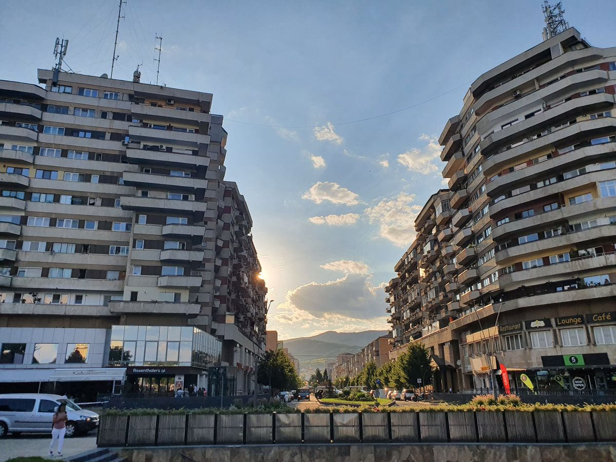 Bulevardul Transilvaniei in Alba Iulia