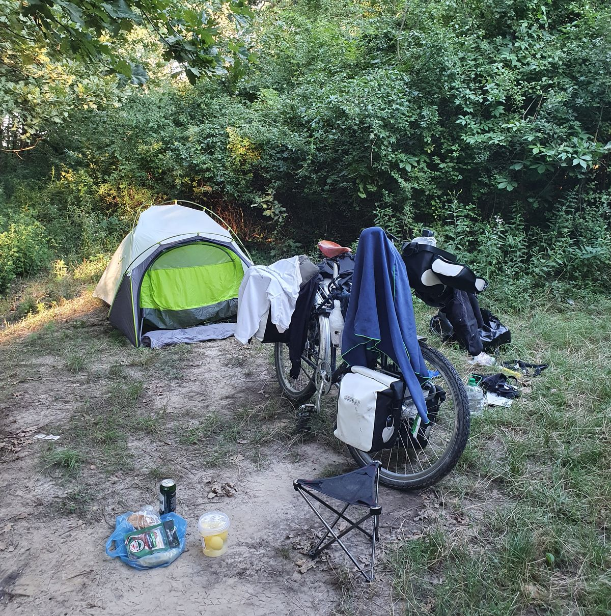 Campingstelle bei Lad