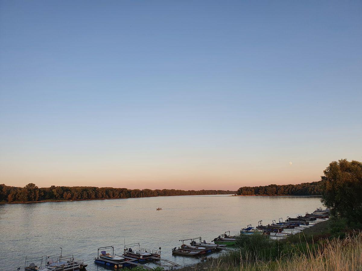 Die Donau bei Mohács