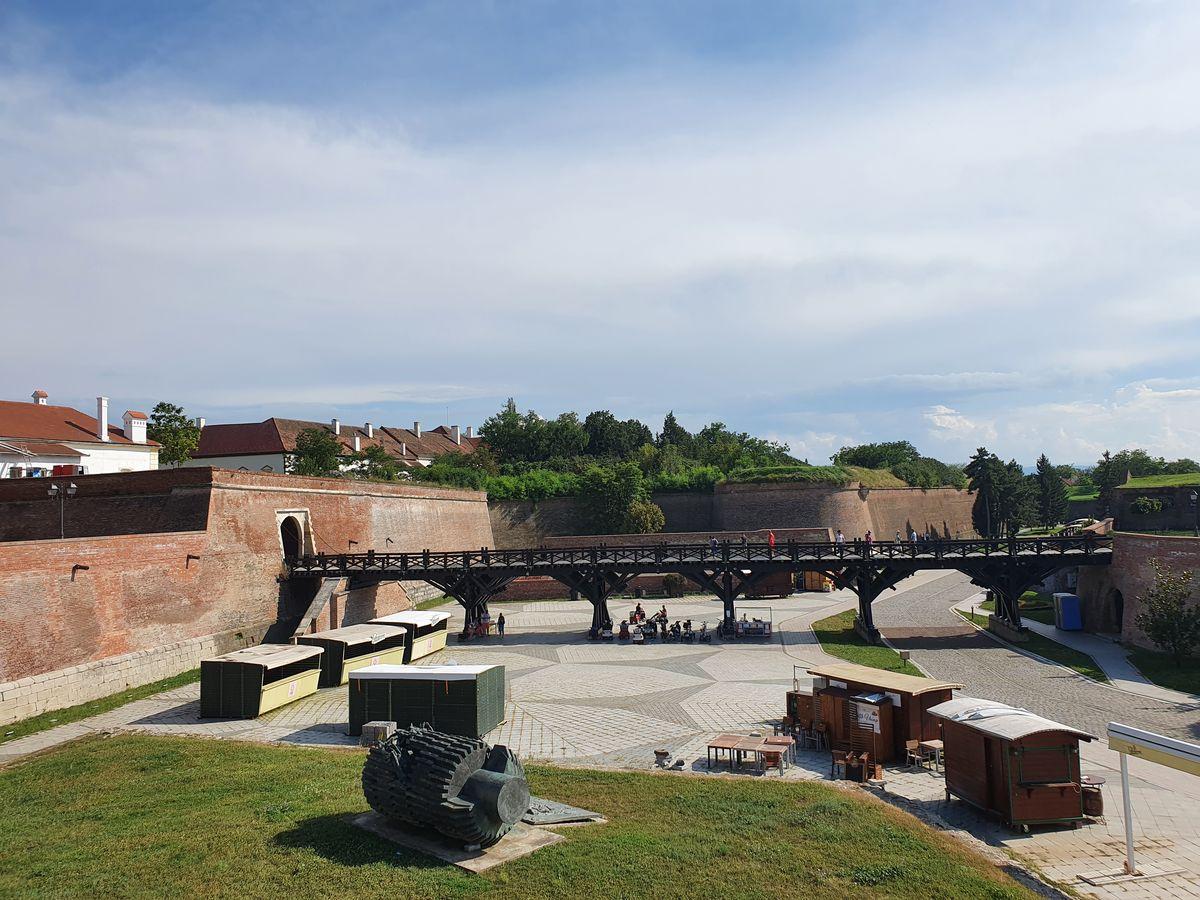Festungsanlage in Alba Iulia