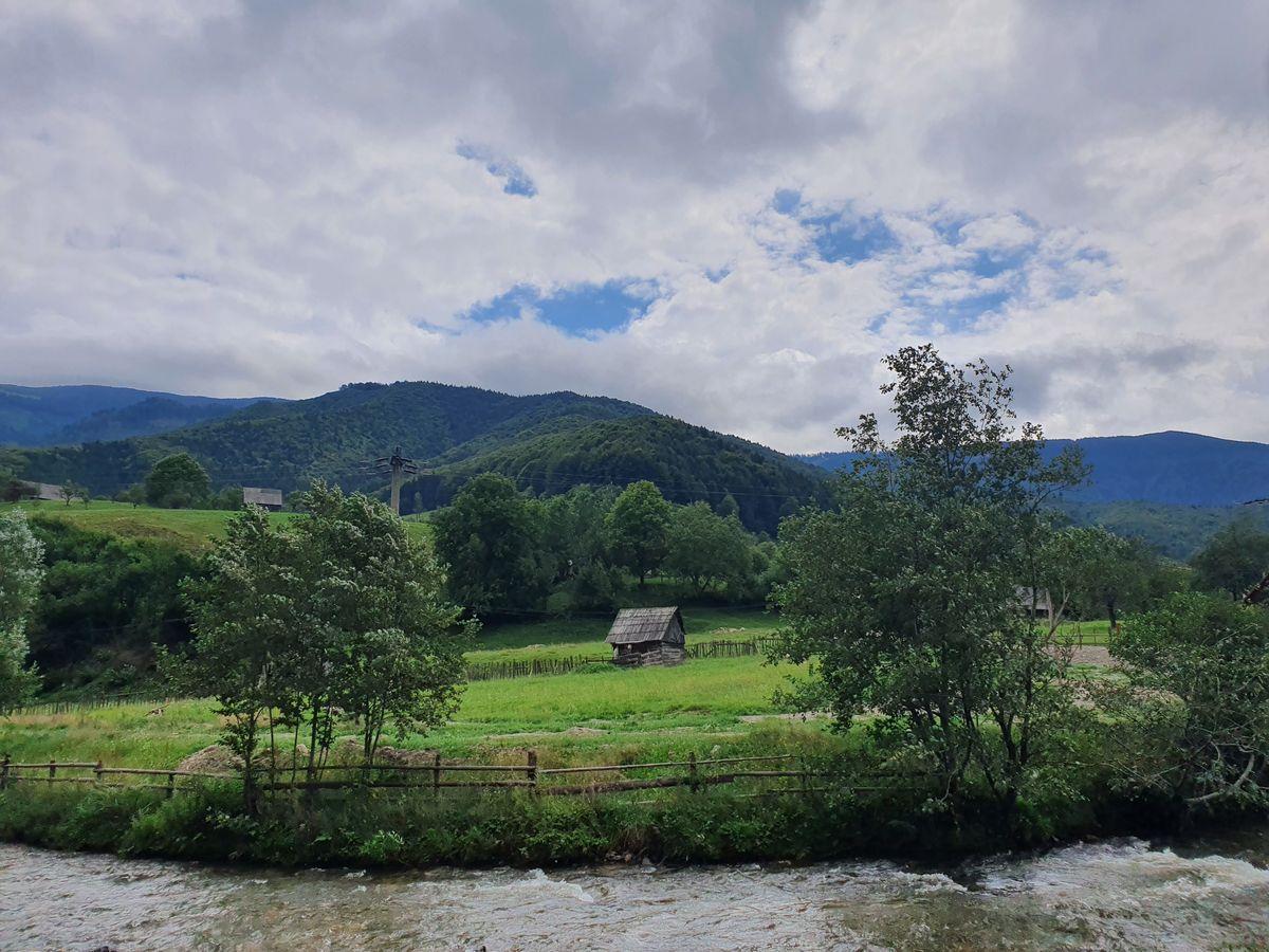 Karpaten kurz vor Râu Sadului von Sadu