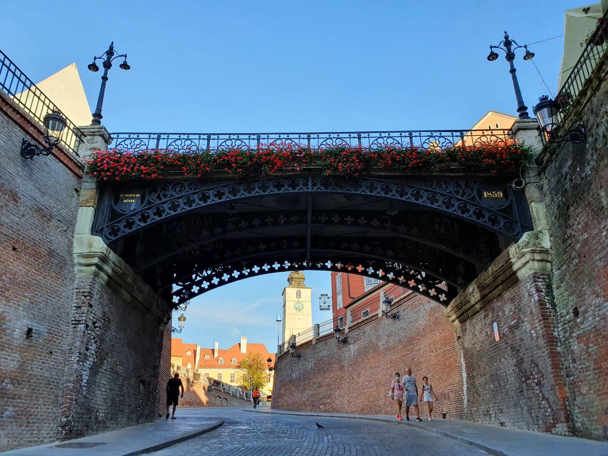 Lügenbrücke in Sibiu