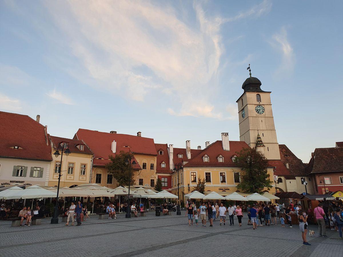 Sibiu Rathausturm
