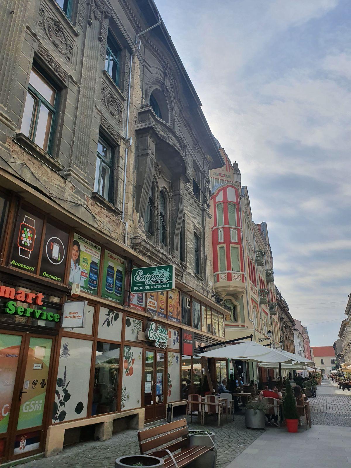 Strada Eugeniu de Savoya in Timișoara