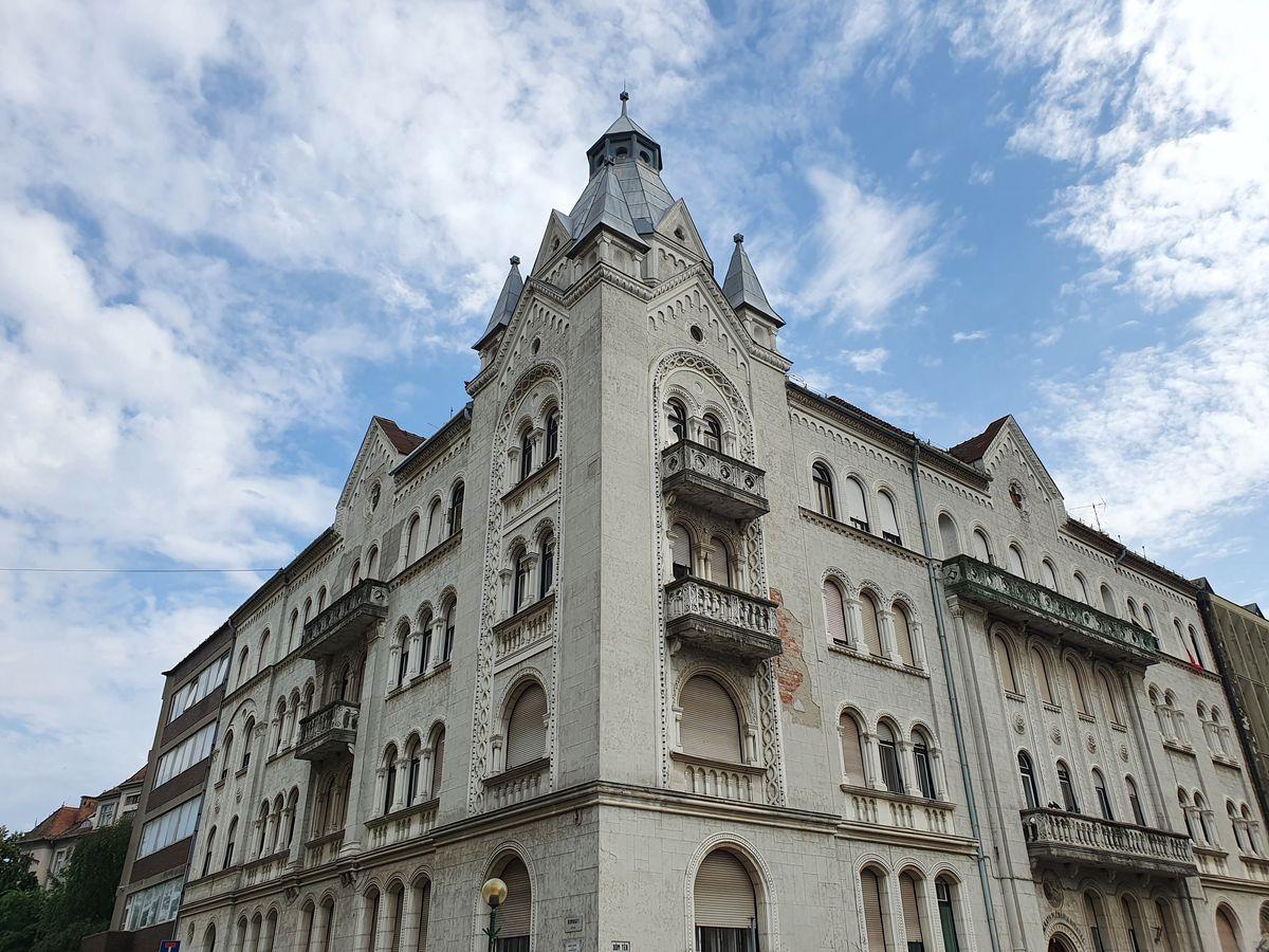 Szeged nahe des Doms