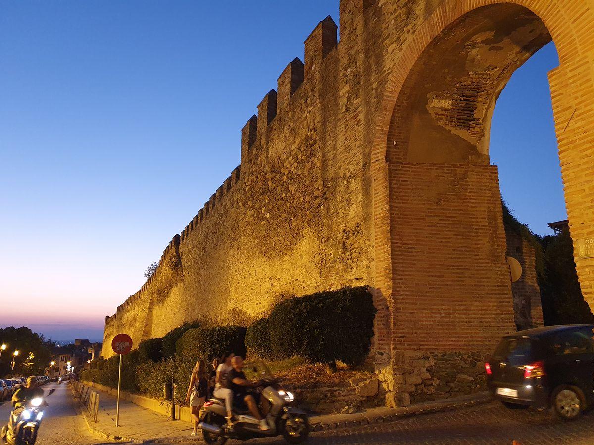 Alte Stadtmauer von Thessaloniki
