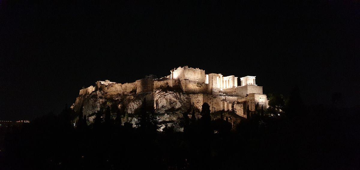 Athen - Akropolis bei Nacht
