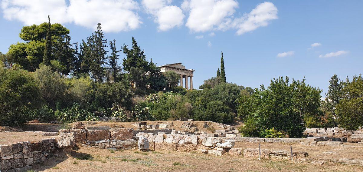 Athen - Tempel des Hephaistos in der Agora