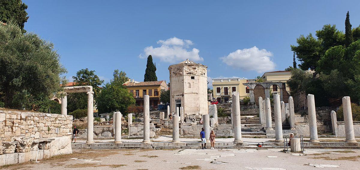 Athen - Turm der Winde im Römischen Forum