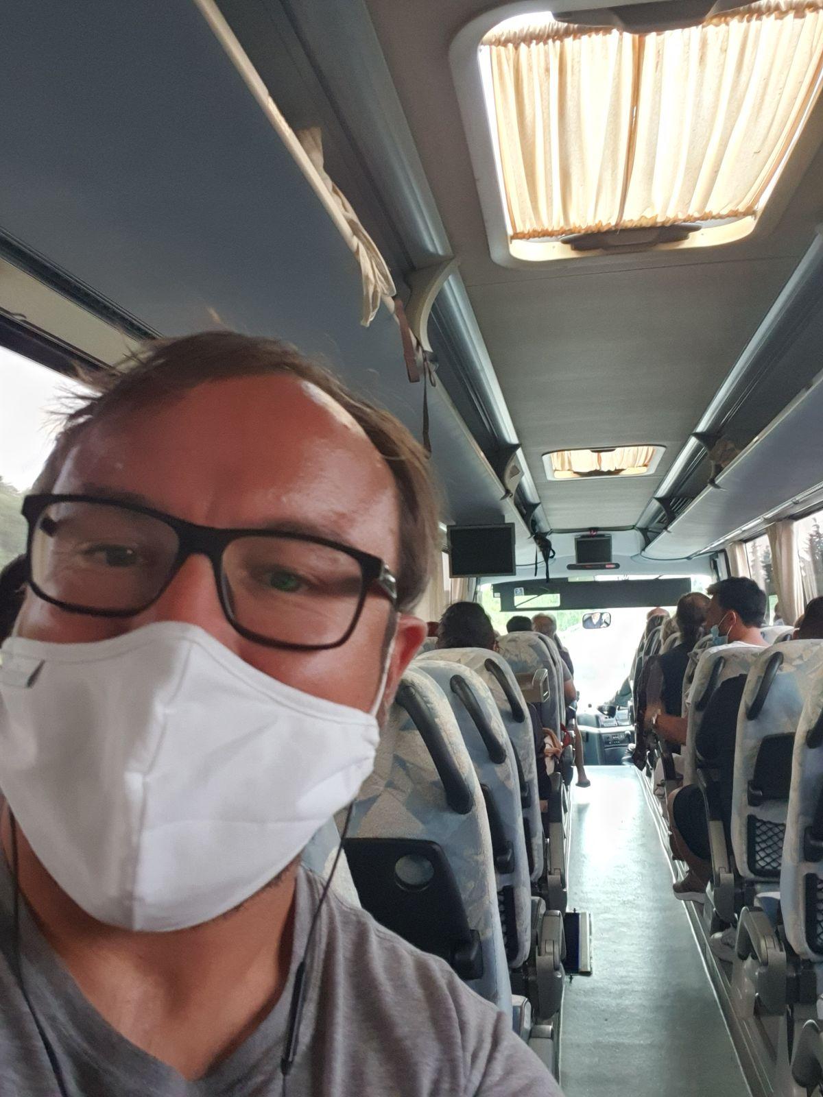 Busfahrt Meteora nach Athen