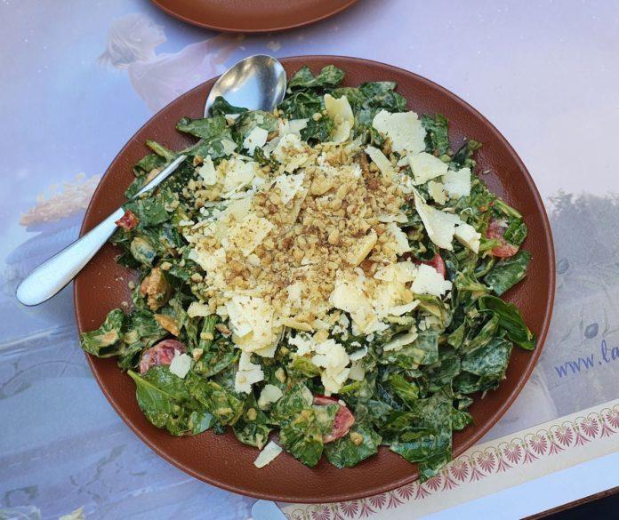 Rucola Spinat Salat