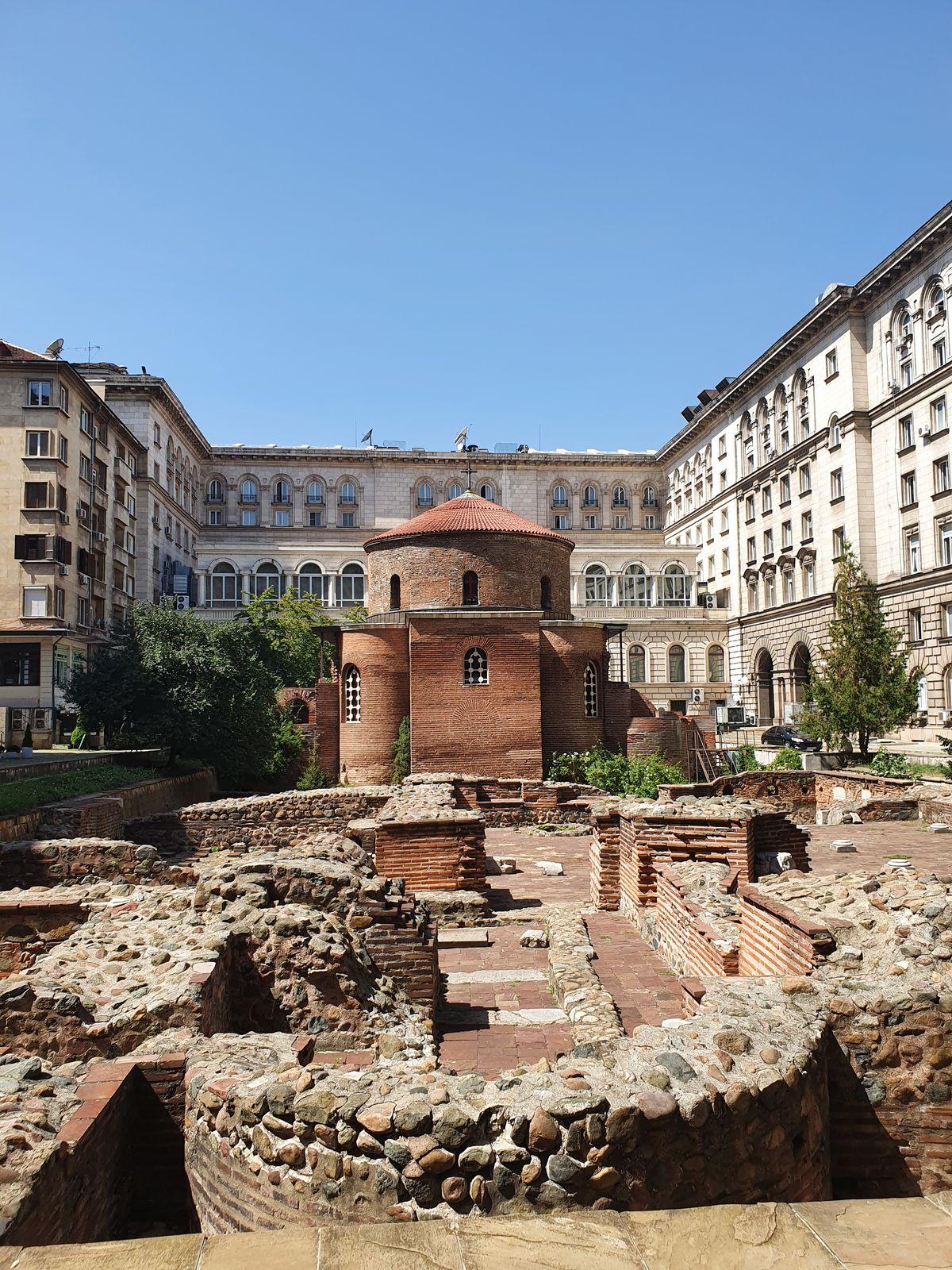 Sofia - Kirche des heiligen George Rotunda