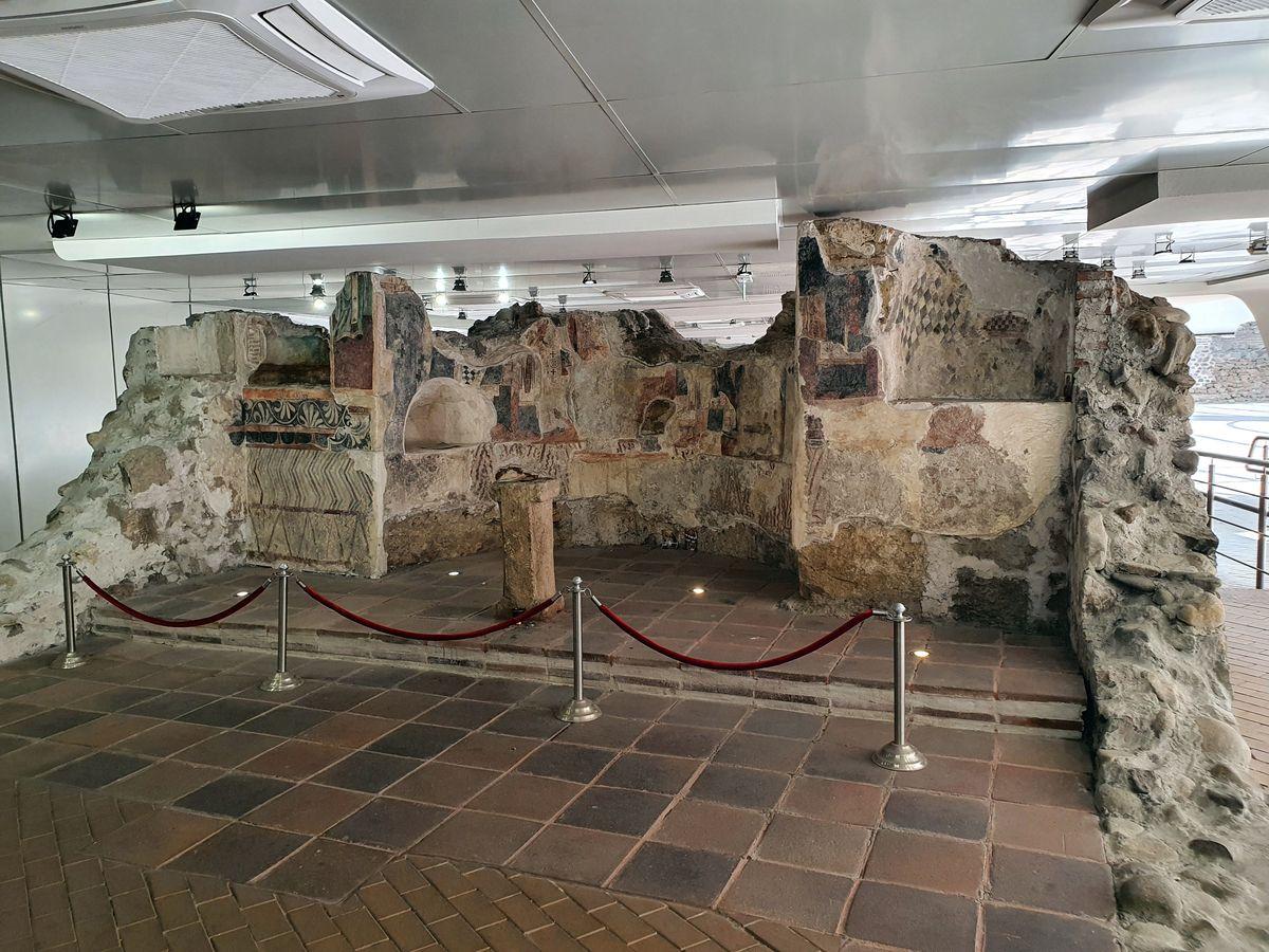Sofia - Römische Ausgrabungen in der Metrostation - Serdika II