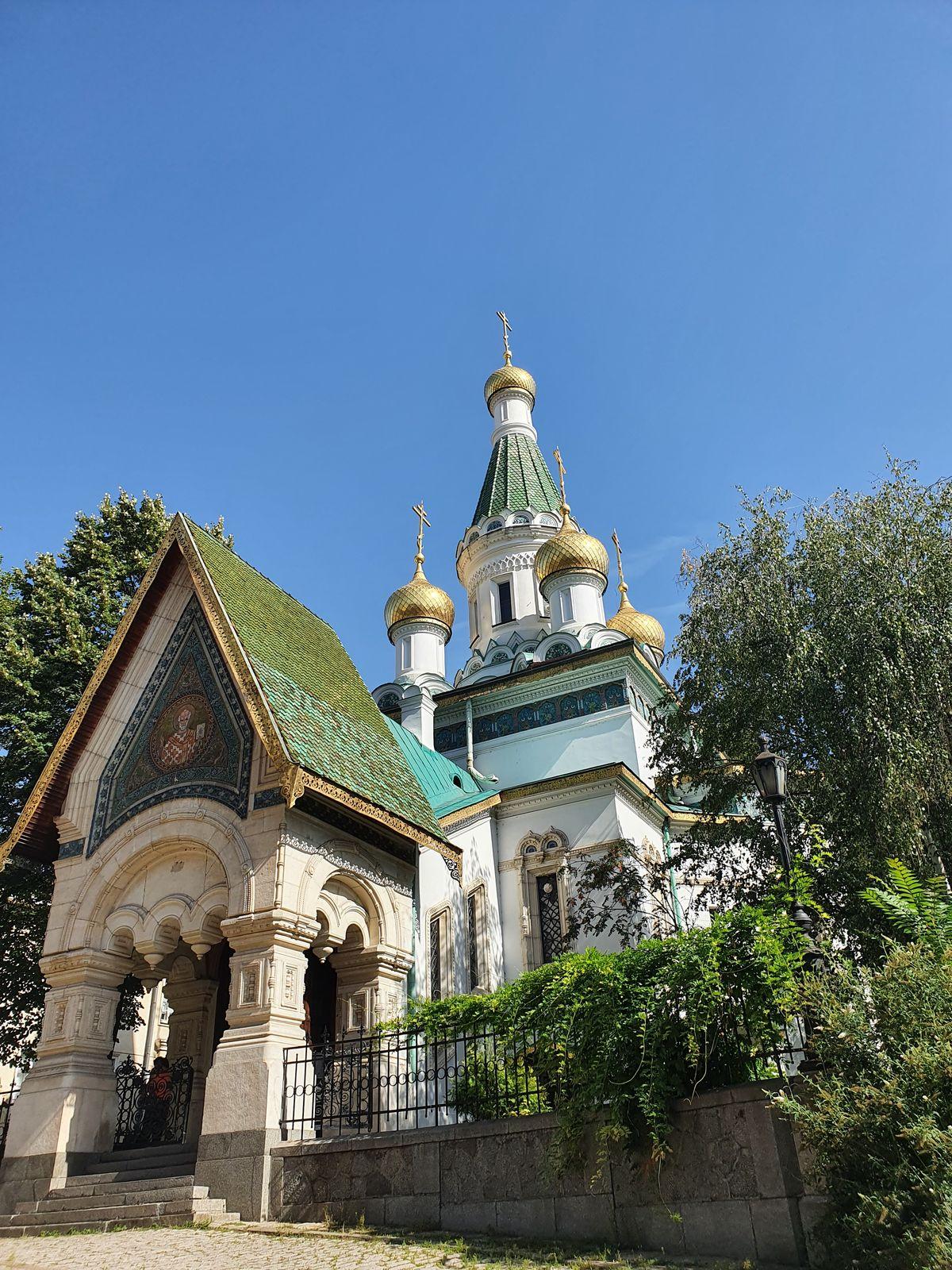 Sofia - Russische Kirche Sveti Nikolay Mirlikiiski