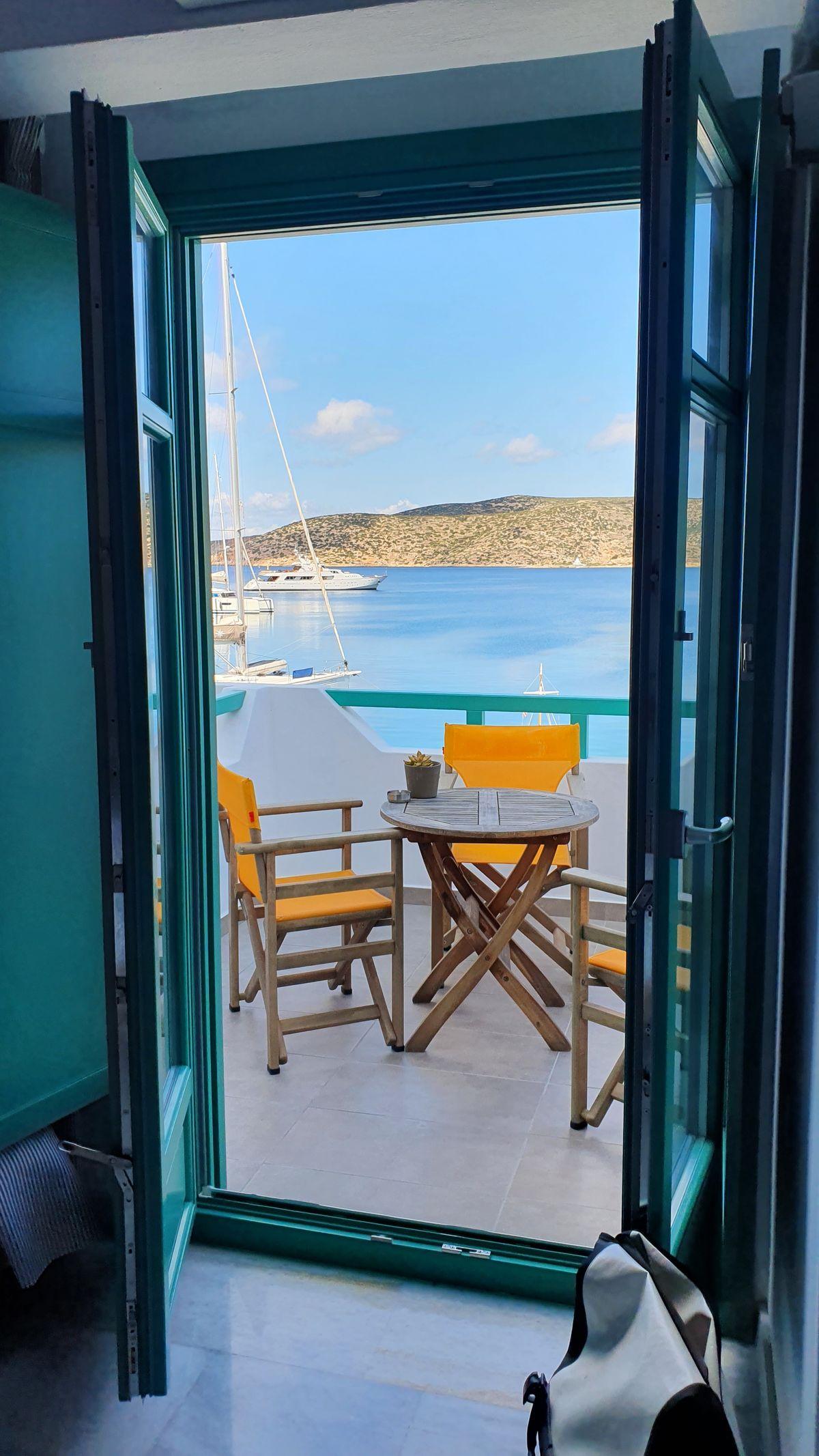 Amorgos - Katapola - Blick auf den Hafen
