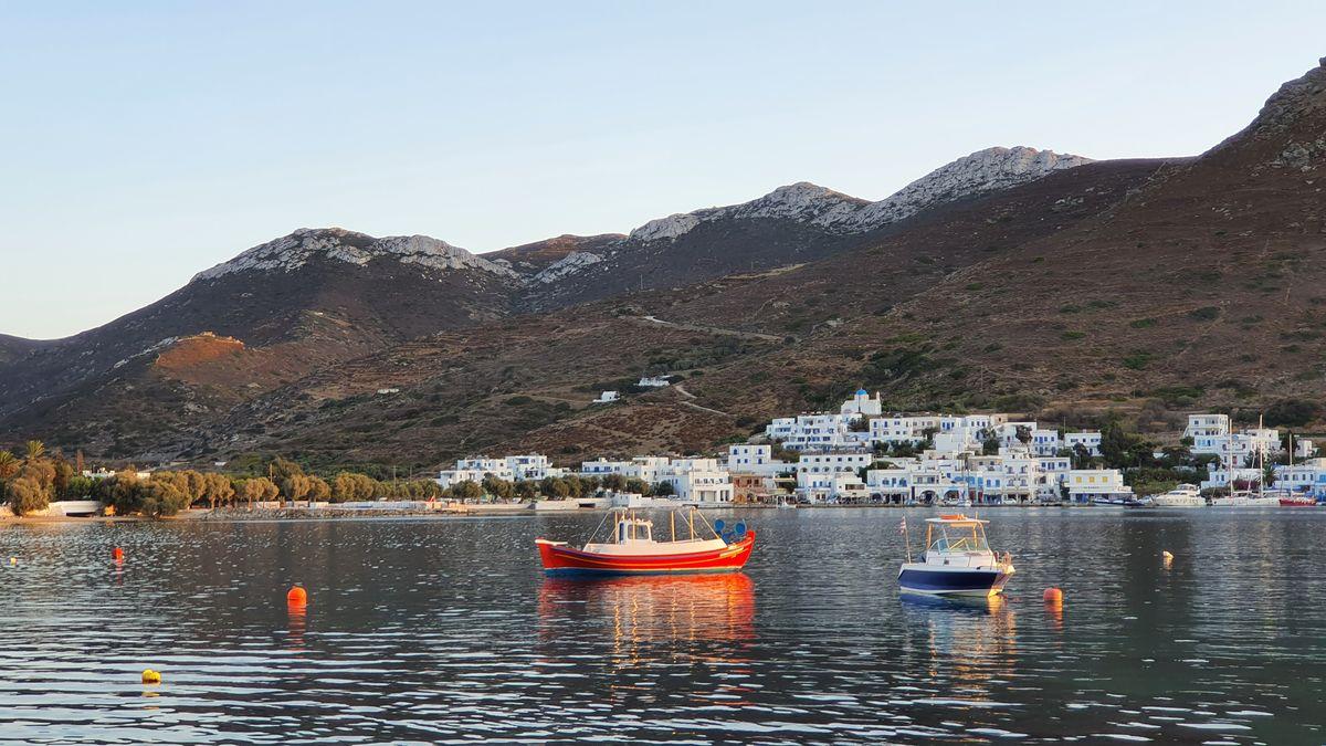 Amorgos - Katapola - Hafen