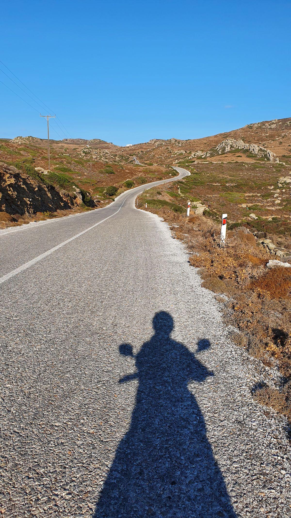 Amorgos - zentrale Berge