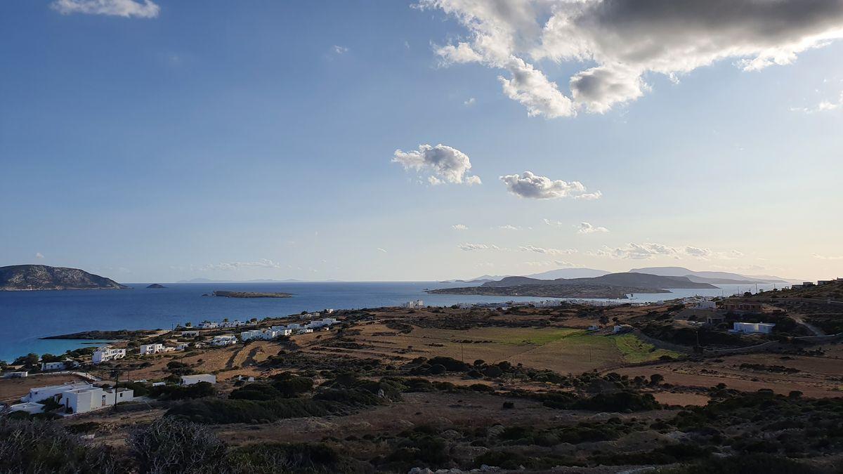 Ano Koufonisis mit Blick auf Naxos