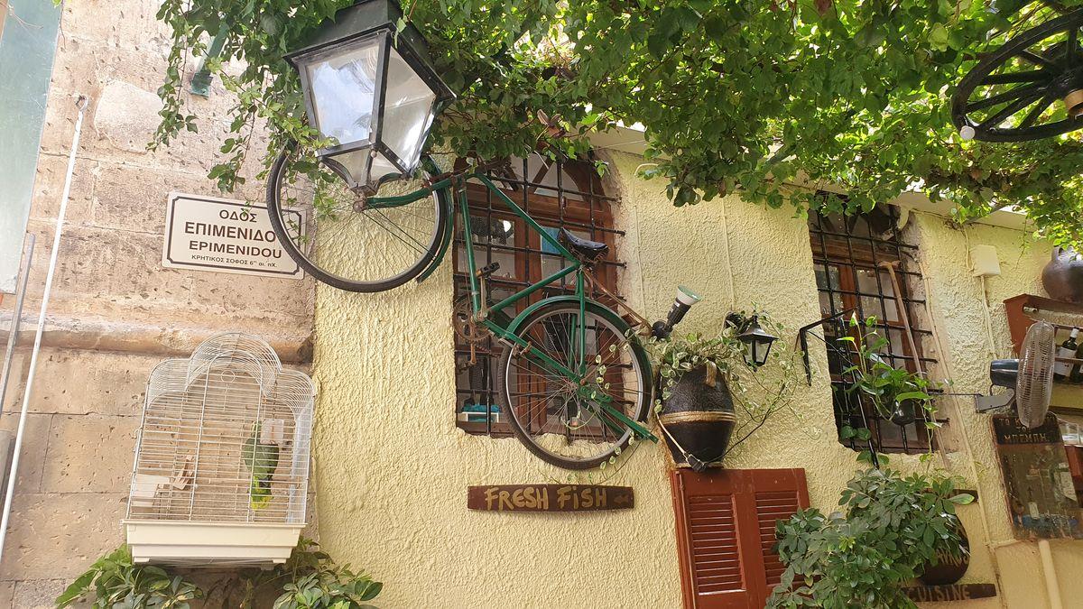Kreta - Rethymno - Fahrrad