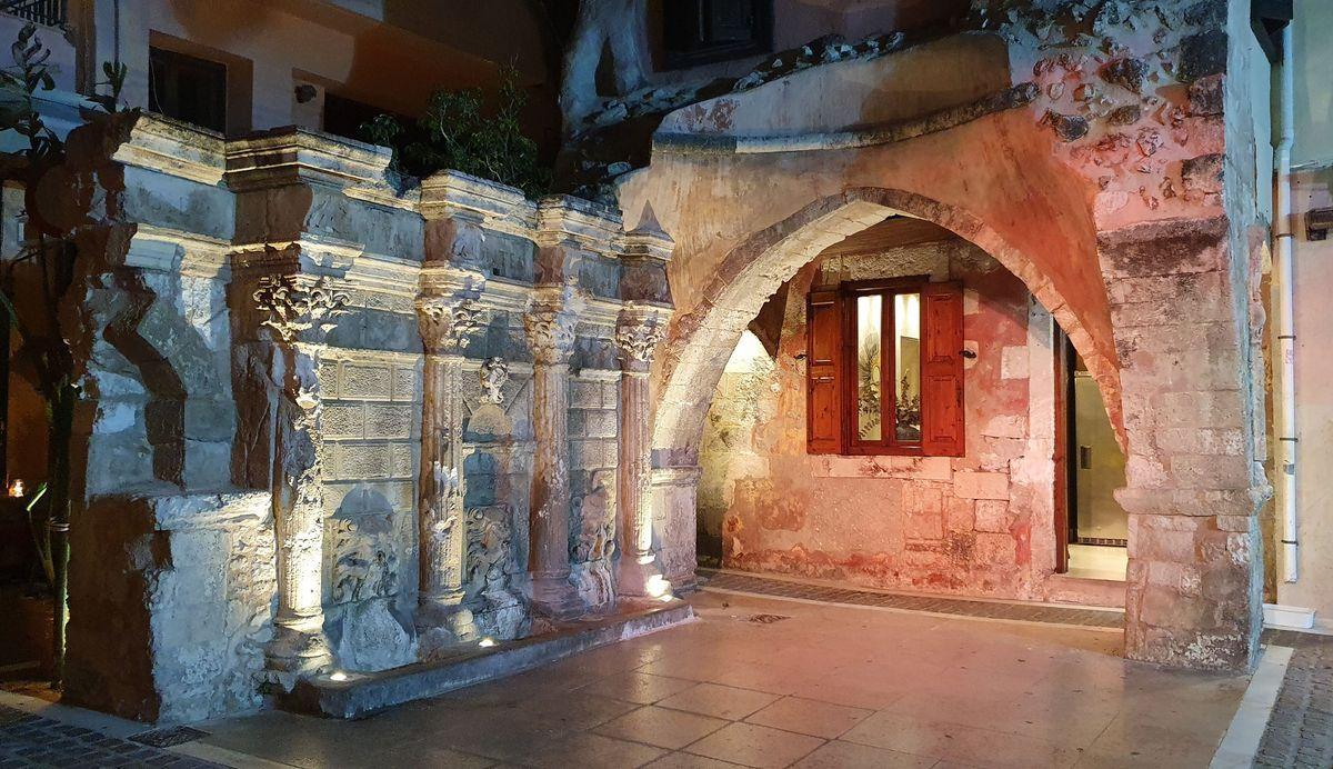 Kreta - Rethymno - Rimondi Brunnen