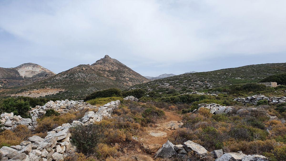 Naxos - Berge
