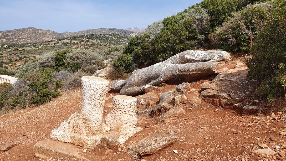 Naxos - Kouroi von Flerio