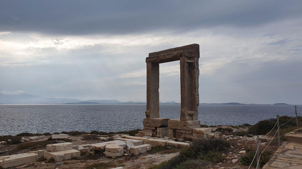 Ägäische Inseln: Naxos - Portara