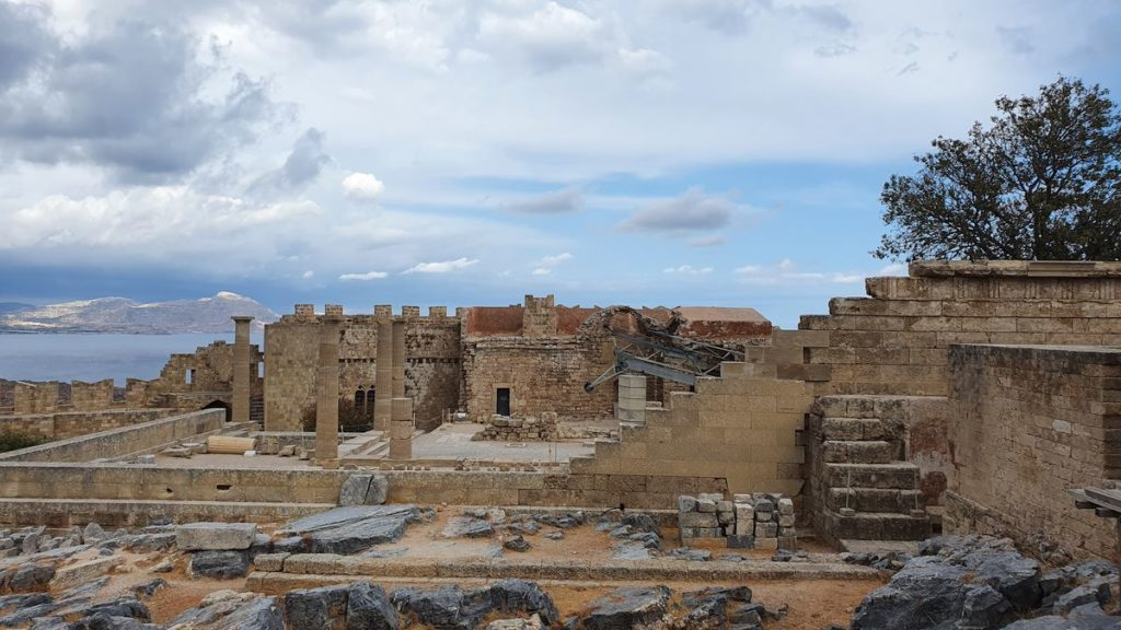 Rhodos - Akropolis von Lindos
