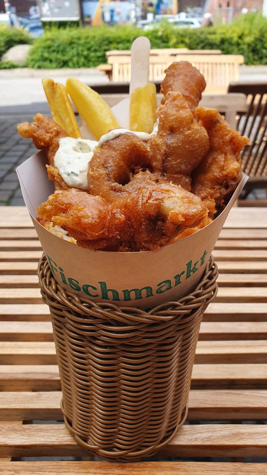Backfisch in Hamburg