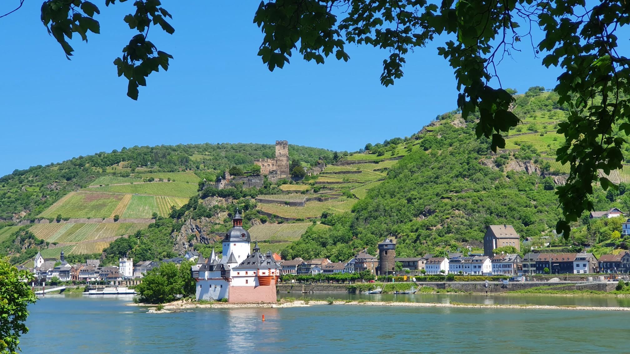 Burg Pfalzgrabenstein Kaub