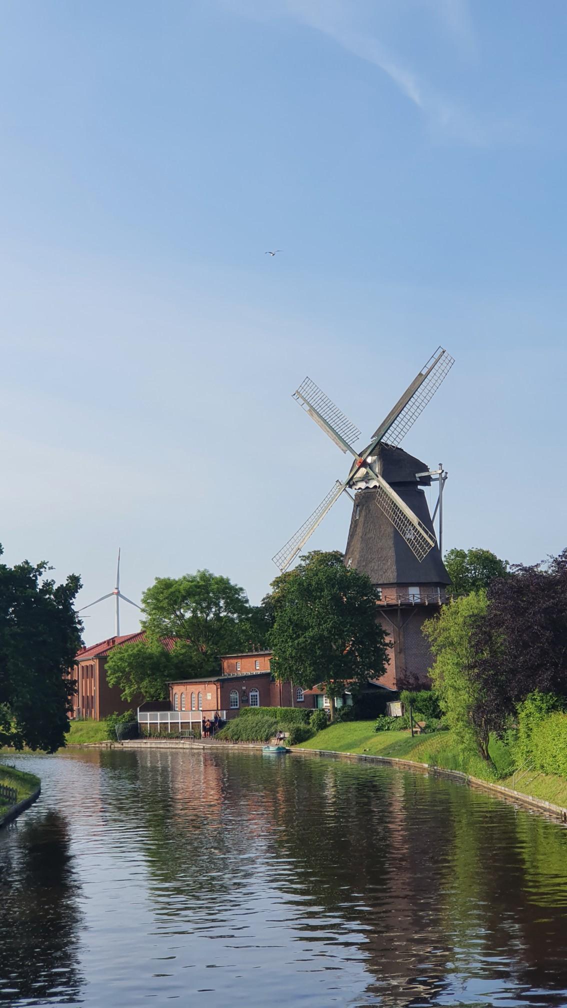 Windmühle bei Hinte