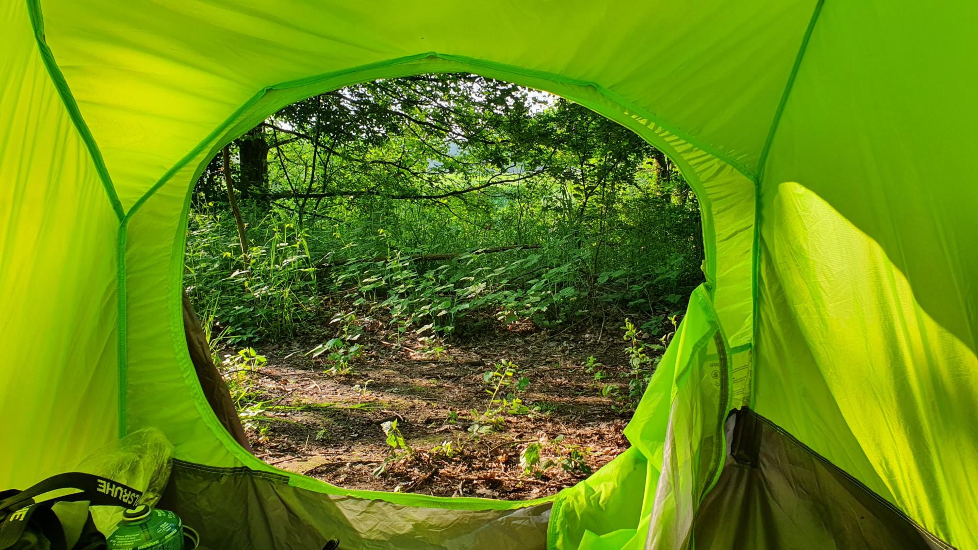Zelten bei Hünxe