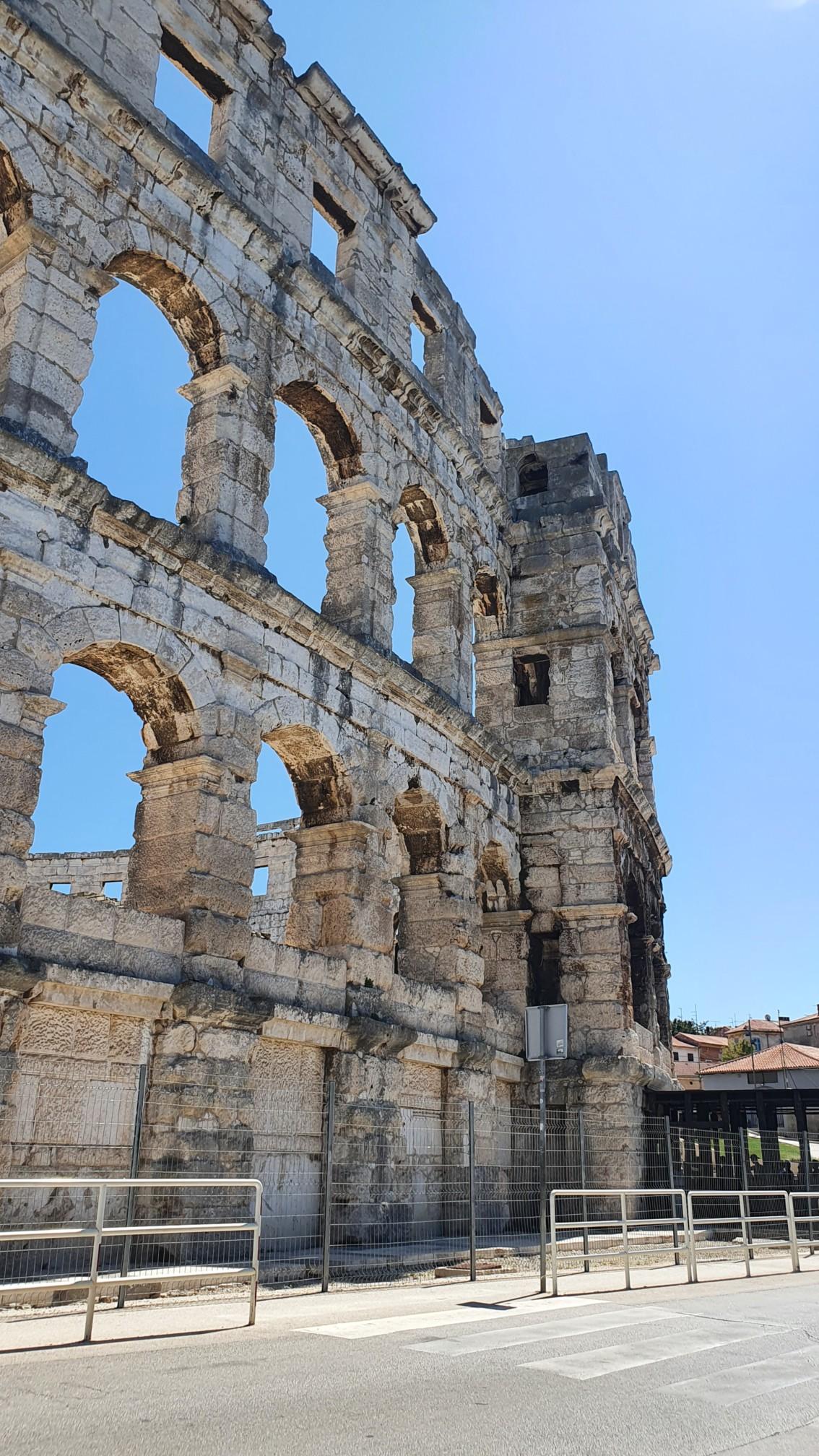 Amphietheater von Pula auf Istrien