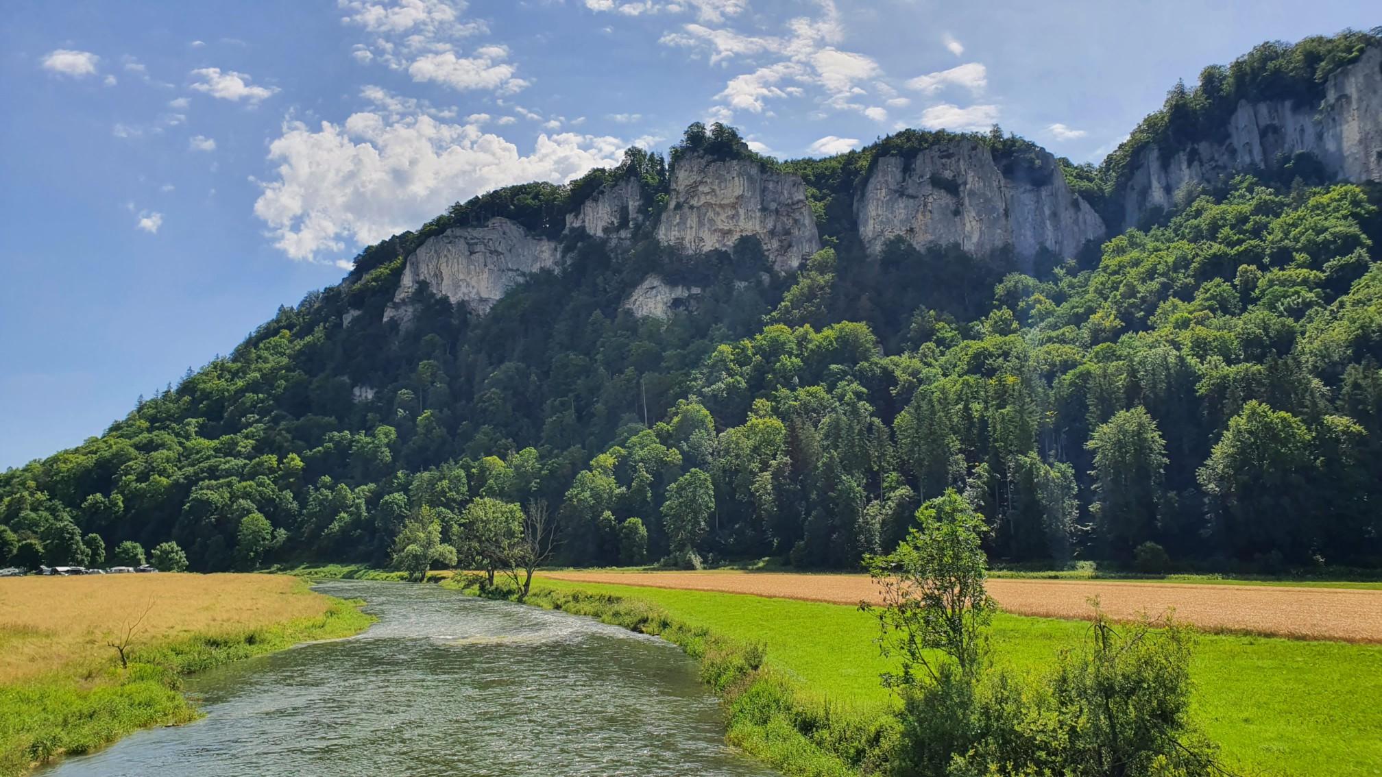 Bei Beuron an der Donau