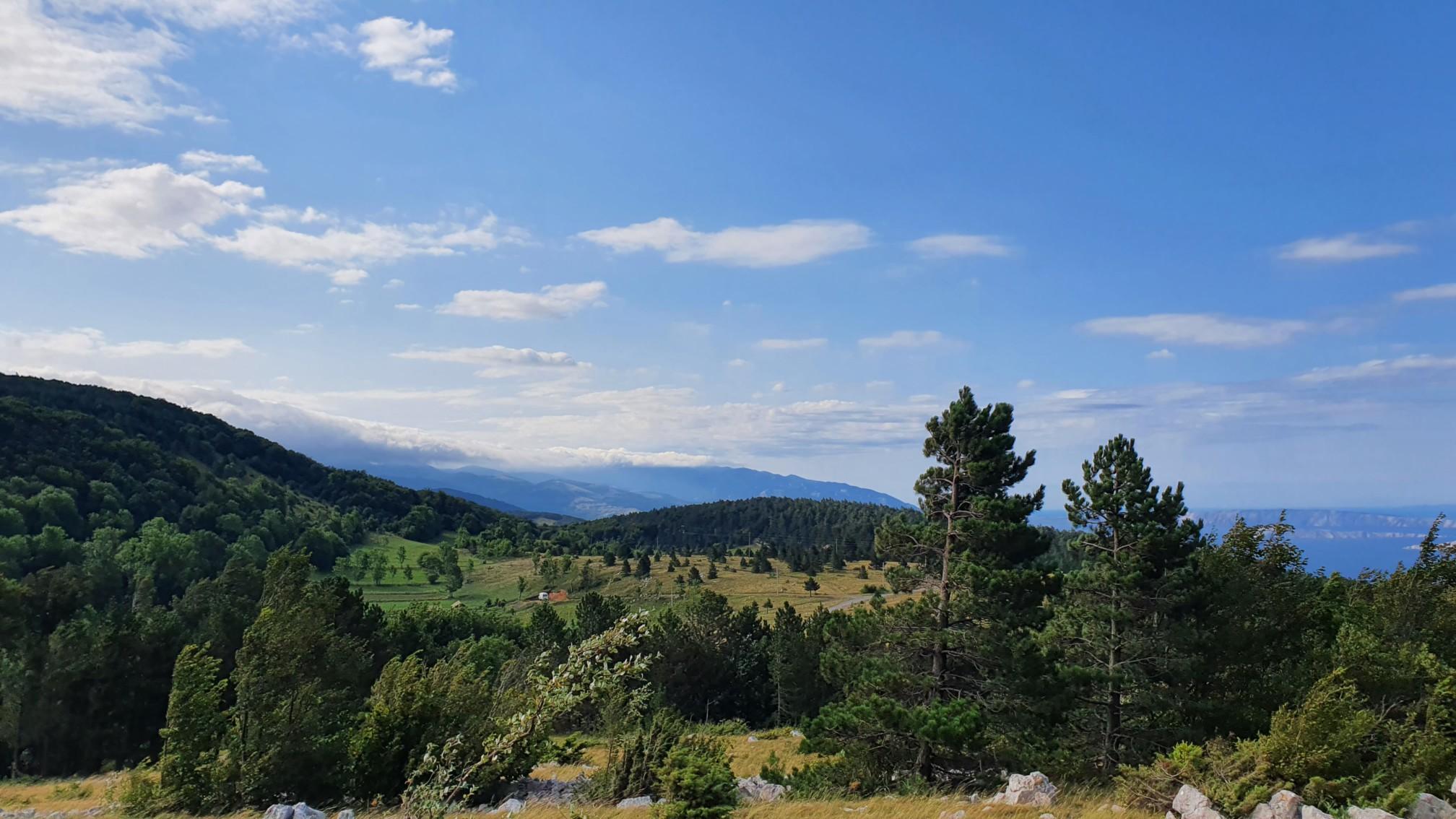 Berge bei Krivi Put