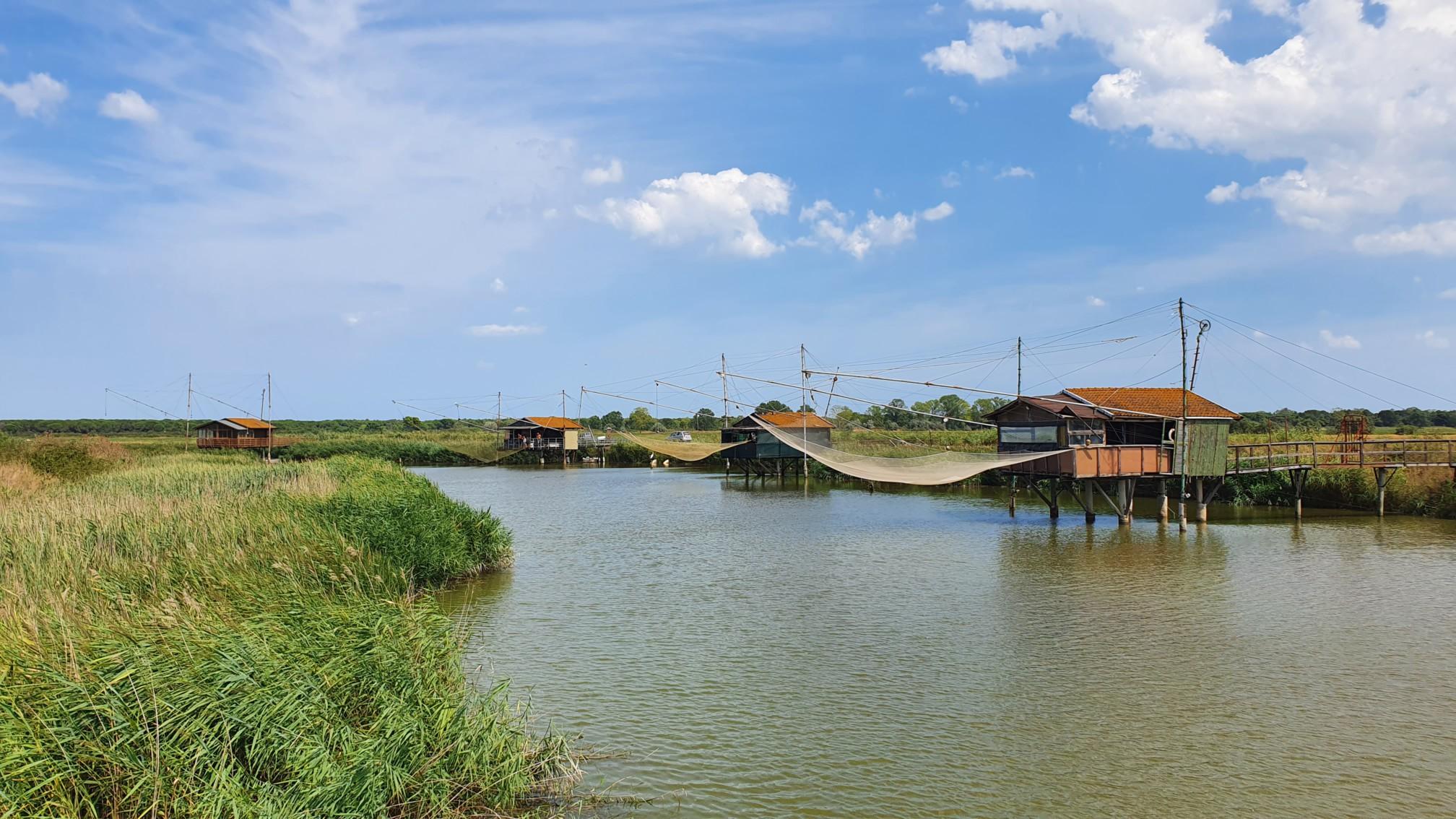 Fischernetze bei Ravenna