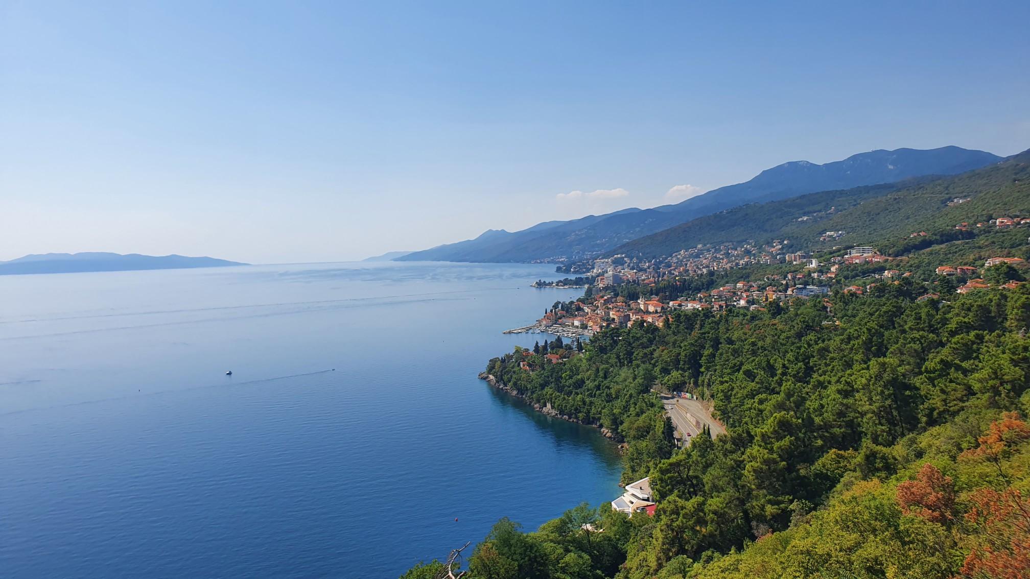 Istrische Westküste Blick nach Süden