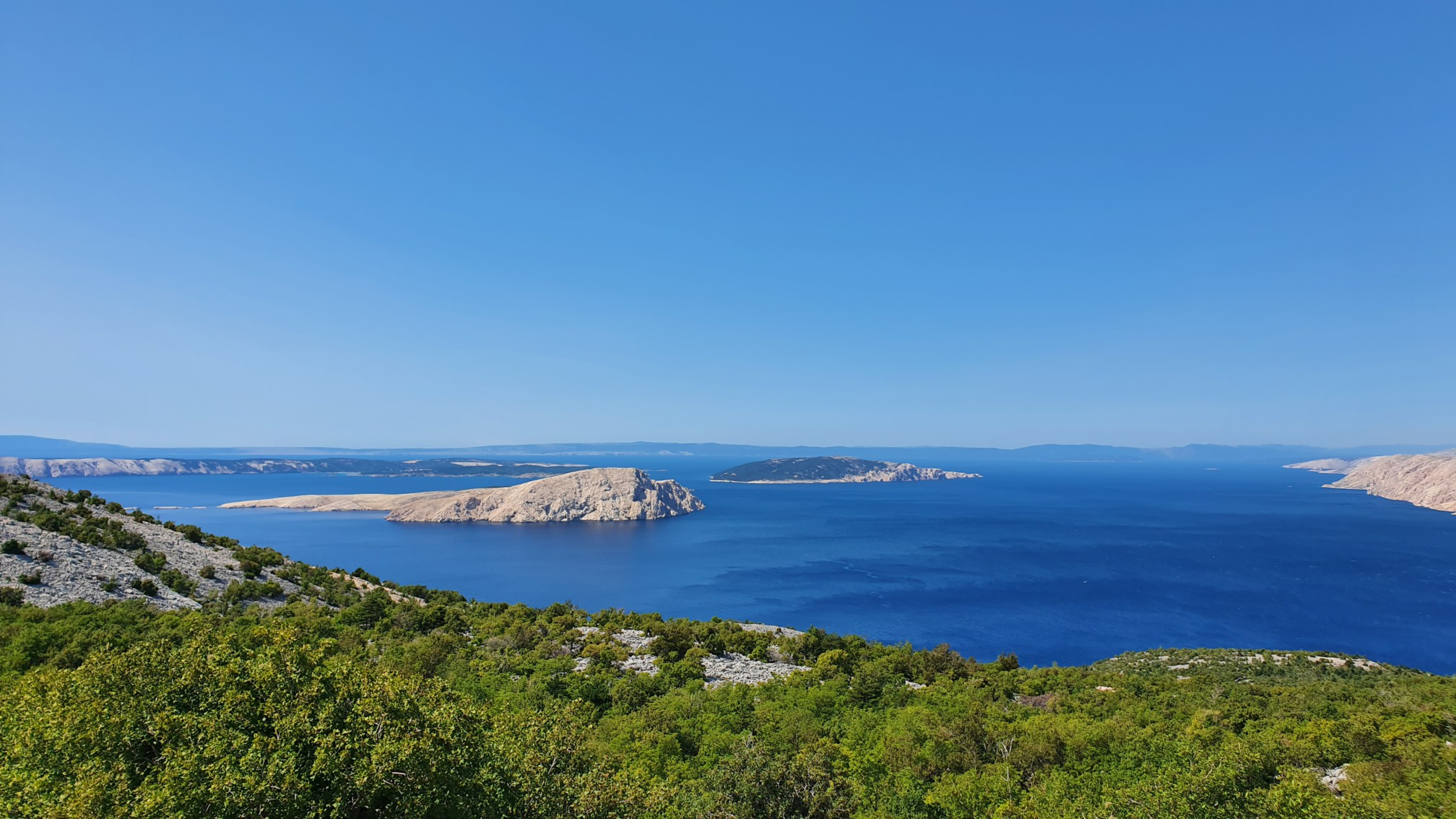 Küste bei Lukovo Kroatien