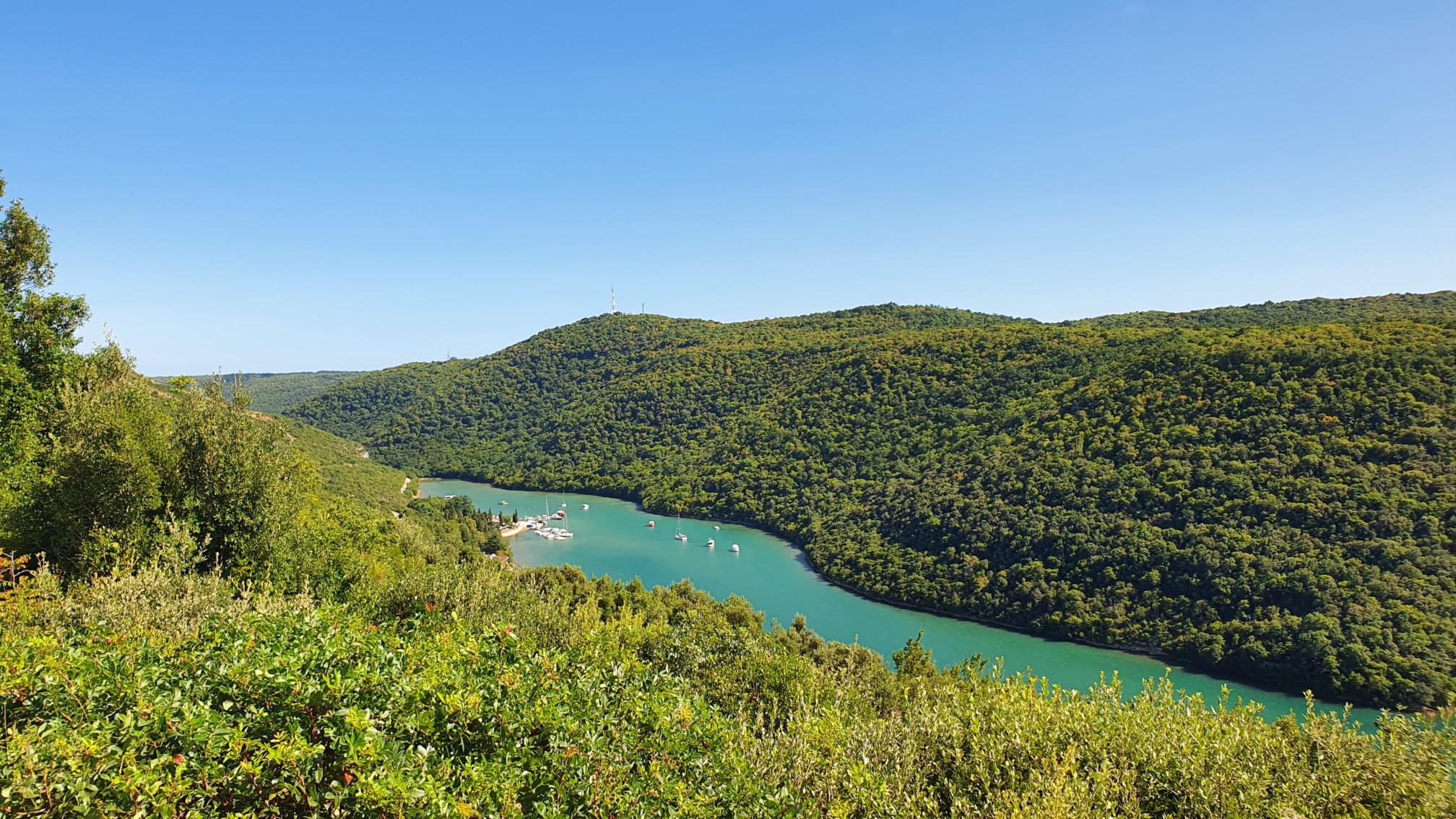 Limski Fjord auf Istrien
