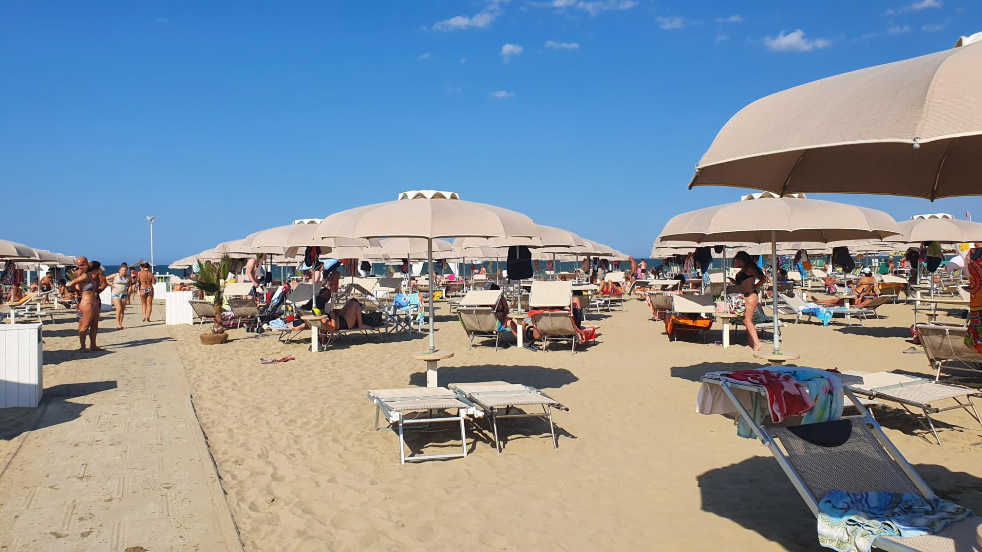 Strand bei Rimini