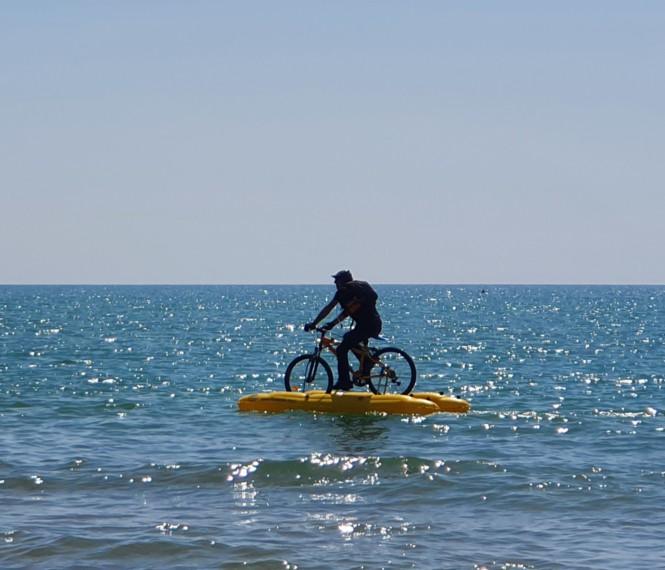 Wasserradler bei Lido di Jesolo