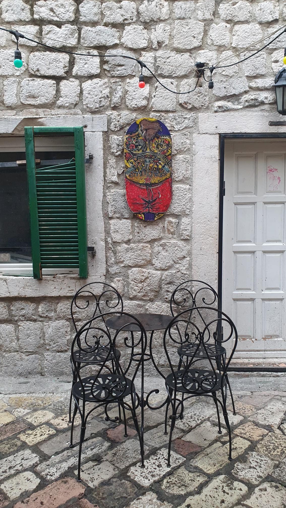 Café in Kotor