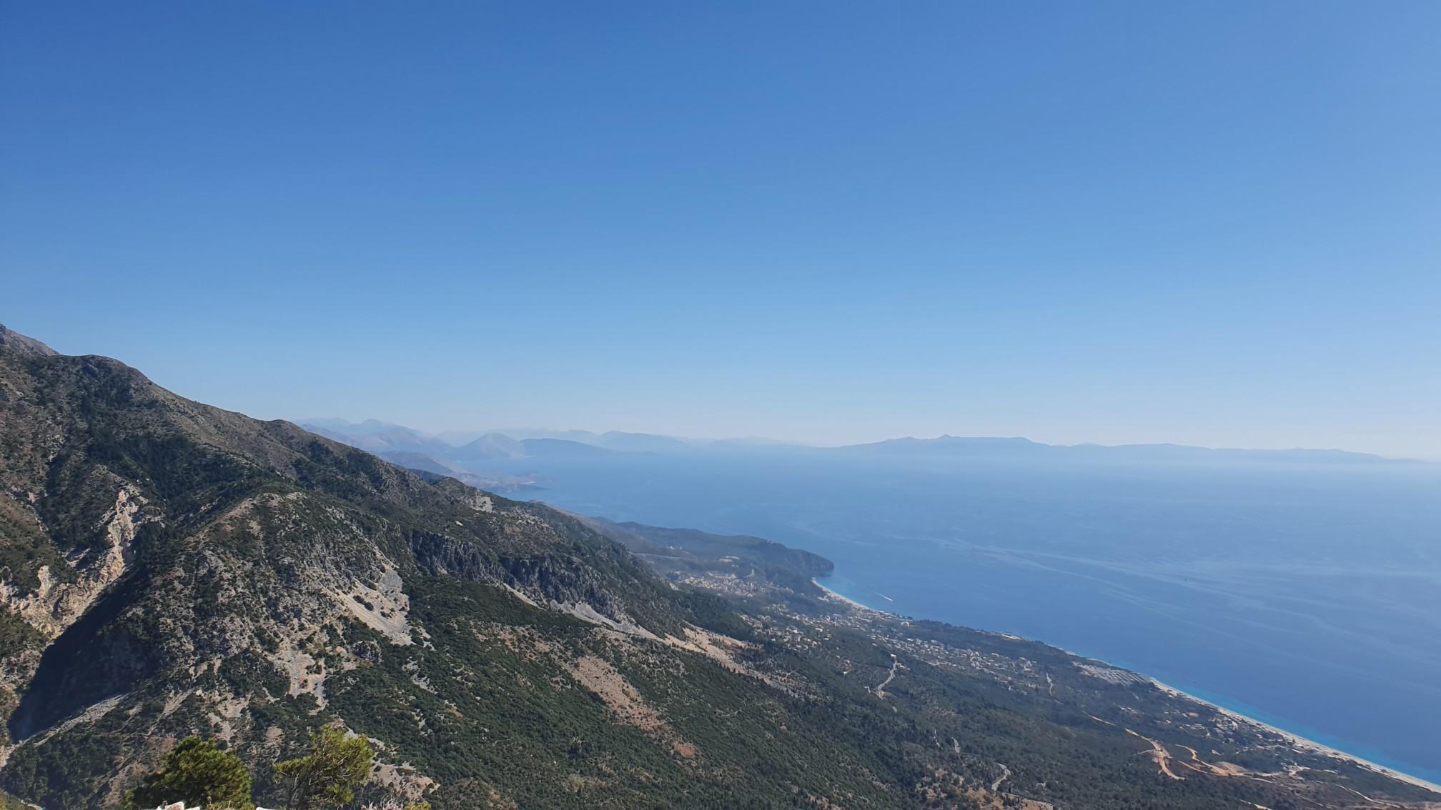 Nationalpark Llogara - Blick von 1000 Meter